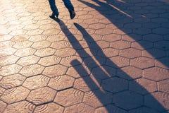 Barcelona pavement Stock Image