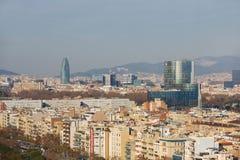 barcelona pejzaż komunalnych Fotografia Stock