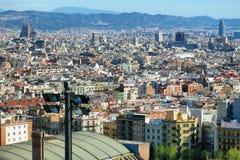 Barcelona pejzaż miejski Zdjęcia Royalty Free