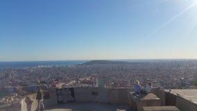 Barcelona Catalunia Spain. Barcelona Picture Catalunia Spain Sky royalty free stock photo