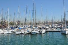 Barcelona pier Royalty Free Stock Photo