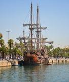 Barcelona pier Royalty Free Stock Photos