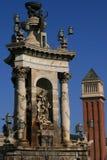 barcelona plac Hiszpanii Zdjęcia Royalty Free