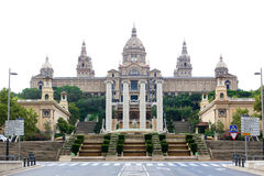 Barcelona,Placa De Espanya,Spain. Royalty Free Stock Photos