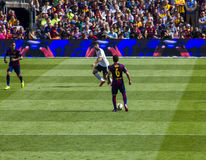 Barcelona playstation football Stock Photography