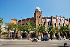 Barcelona - Plaza de Toros Monumental Royalty Free Stock Photos