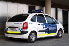 Barcelona Police Stock Photo
