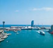Barcelona port Stock Photo