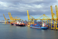 Barcelona port Obraz Stock