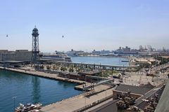 Barcelona port Obraz Royalty Free