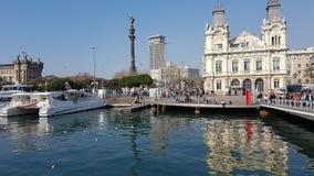 Barcelona Port Stock Images