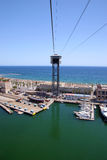 Barcelona port II Royalty Free Stock Images