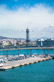 Barcelona port Royalty Free Stock Photos