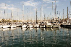 Barcelona port, Spain Stock Image