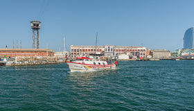 Barcelona Port - Spain Royalty Free Stock Photo