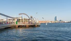 Barcelona Port - Spain Royalty Free Stock Photos