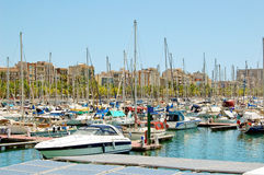 Barcelona - Port Vell Royalty Free Stock Photography