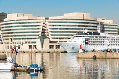 Barcelona Port Vell Royalty Free Stock Photos