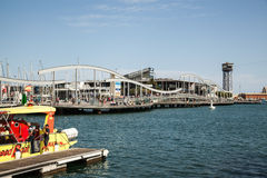 Barcelona Port Vell Stock Photos