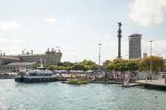 Barcelona Port Vell Stock Image