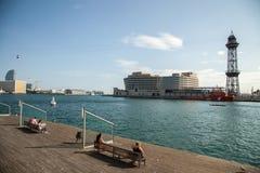 Barcelona Port Vell Royalty Free Stock Image