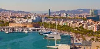 Barcelona port Royalty Free Stock Photo