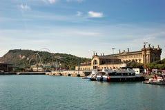 Barcelona Port Stock Photos