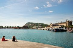 Barcelona Port Royalty Free Stock Image