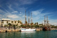 Barcelona Port Stock Photography
