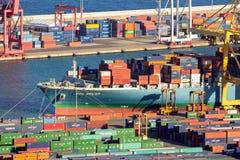 barcelona portu Obrazy Stock