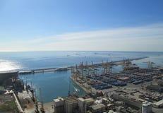 barcelona portu zdjęcie royalty free