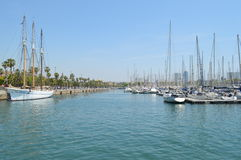 Barcelona PortVell Stock Image