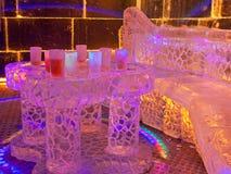 barcelona prętowy lód obraz stock