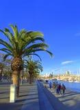 Barcelona promenade Stock Images