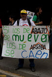 Barcelona-Proteste Lizenzfreies Stockfoto