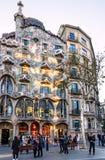 Barcelona punkt zwrotny w Hiszpania Budynku Casa Batllo, Gaudi Obrazy Royalty Free