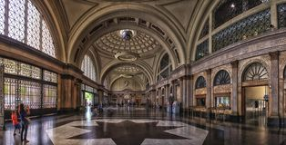 Barcelona, Railway Station Royalty Free Stock Images