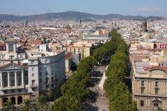 Barcelona - Rambla Royalty Free Stock Image