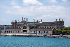 Barcelona regerings- byggnad Arkivbilder