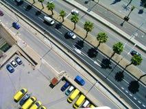 Barcelona road Royalty Free Stock Image
