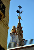 Barcelona Roof Decoration Stock Image