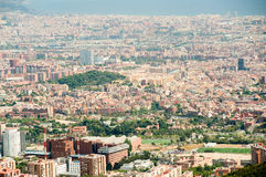 Barcelona roofs Royalty Free Stock Image