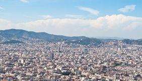 Barcelona rooftops Royalty Free Stock Photo
