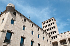 Barcelona Royal Palace Stock Images