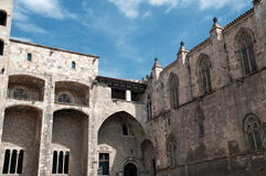 Barcelona Royal Palace Royalty Free Stock Image