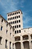 Barcelona Royal Palace Stock Image