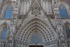 Barcelona's Cathedral Stock Photo