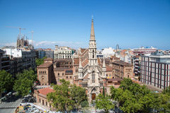 Barcelona's Churches Stock Photos