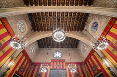 Barcelona's Town Hall, Barcelona, Spain Royalty Free Stock Images