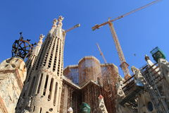 Barcelona, Sagrada Familia Royalty Free Stock Photography